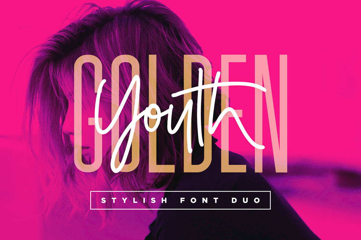 Download Golden Youth Font