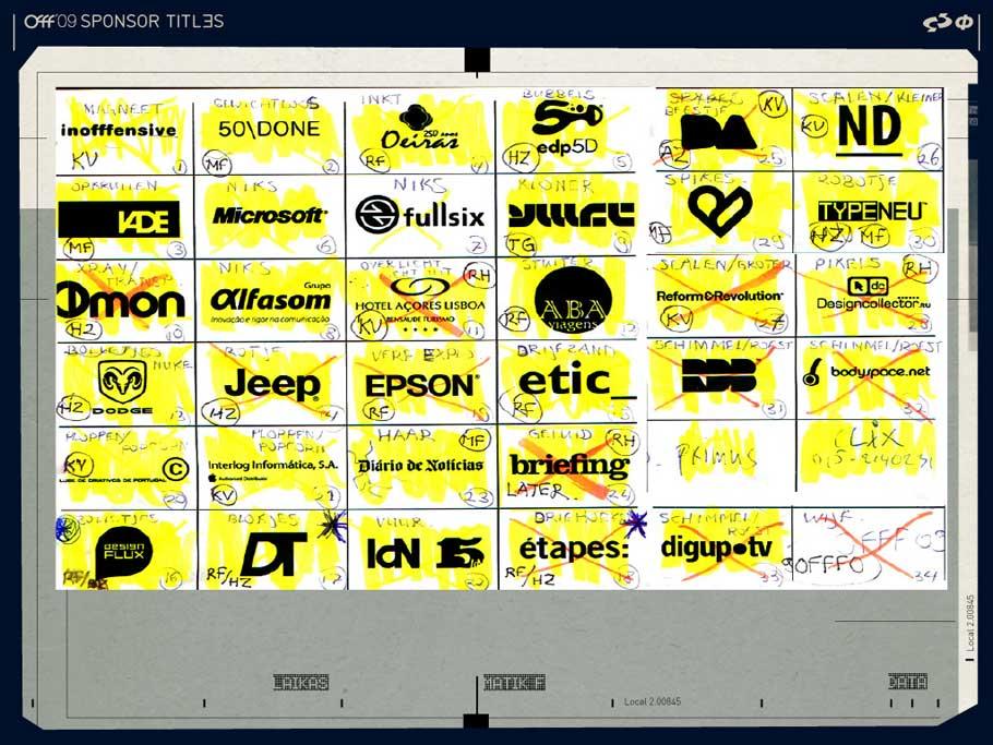 OFFF 2009 Sponsor Titles