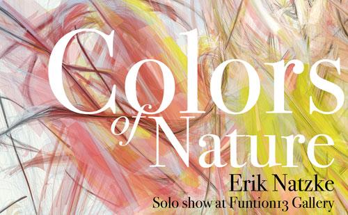 Erik Natzke exhibit in Toronto