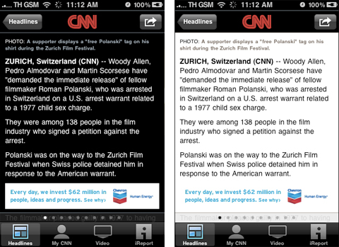 CNN - iPhone