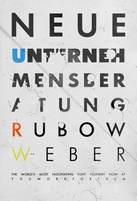 URW, the world's most fascinating font foundry.