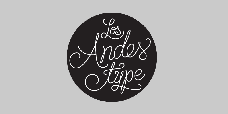 Los Andes Type, Now on Sale
