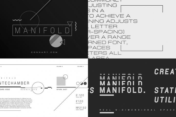 Download Manifold CF Font | YouWorkForThem