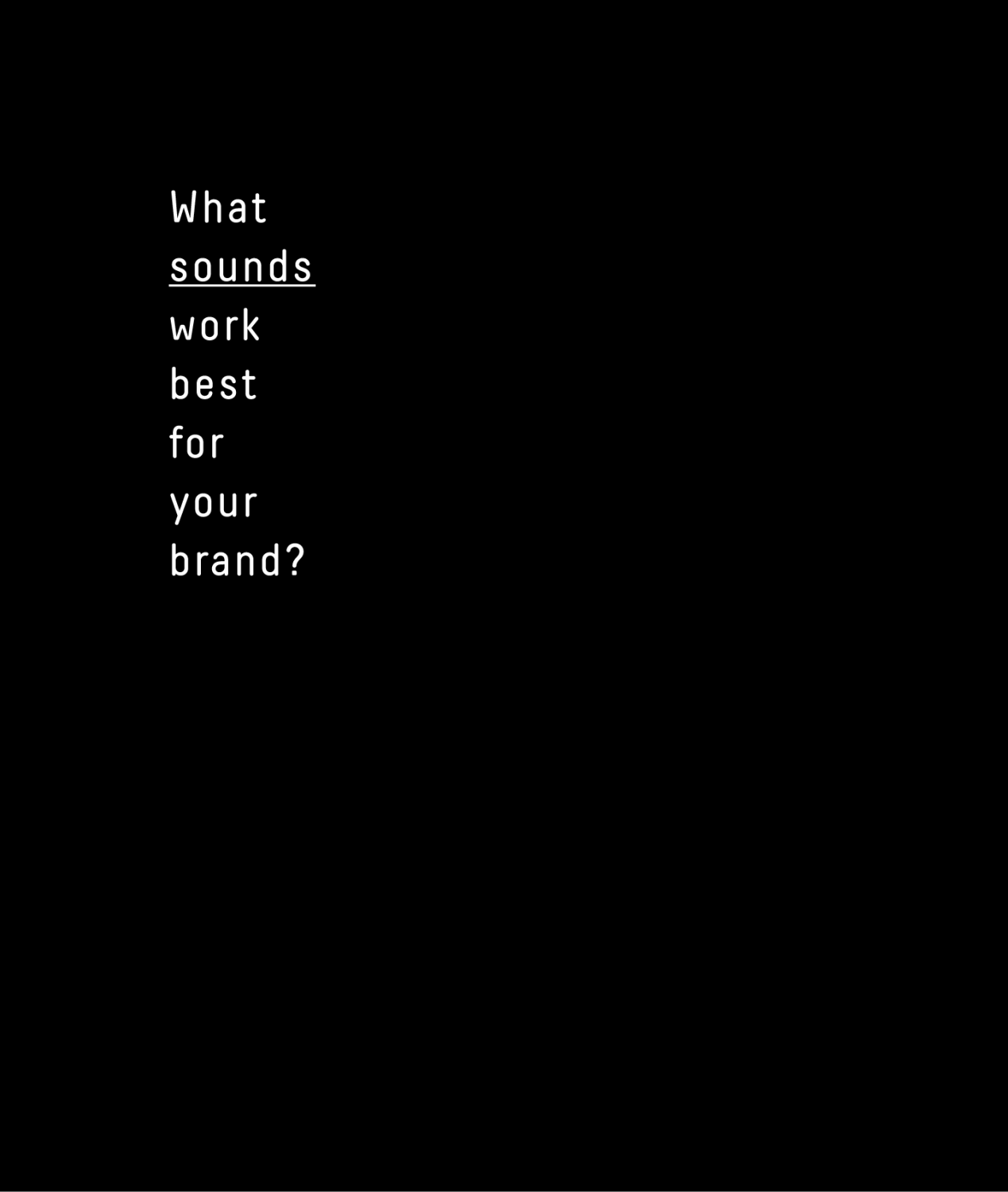 Using Stock Audio for Designing: What Sounds Work Best for Your Brand?