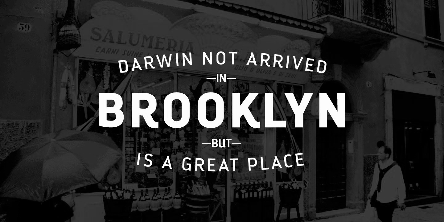 Versatile, Beautiful Fonts From the Bottom of the World: Los Andes Type