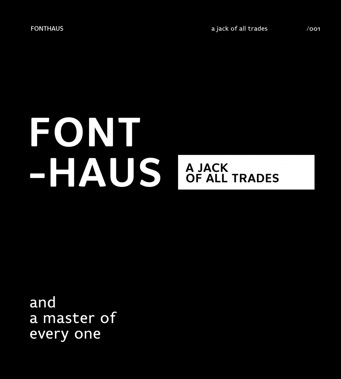 FontHaus: A Jack Of All Trades (And A Master Of Every One)