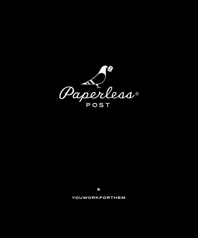 YouWorkForThem Provides Custom Font License For Paperless Post