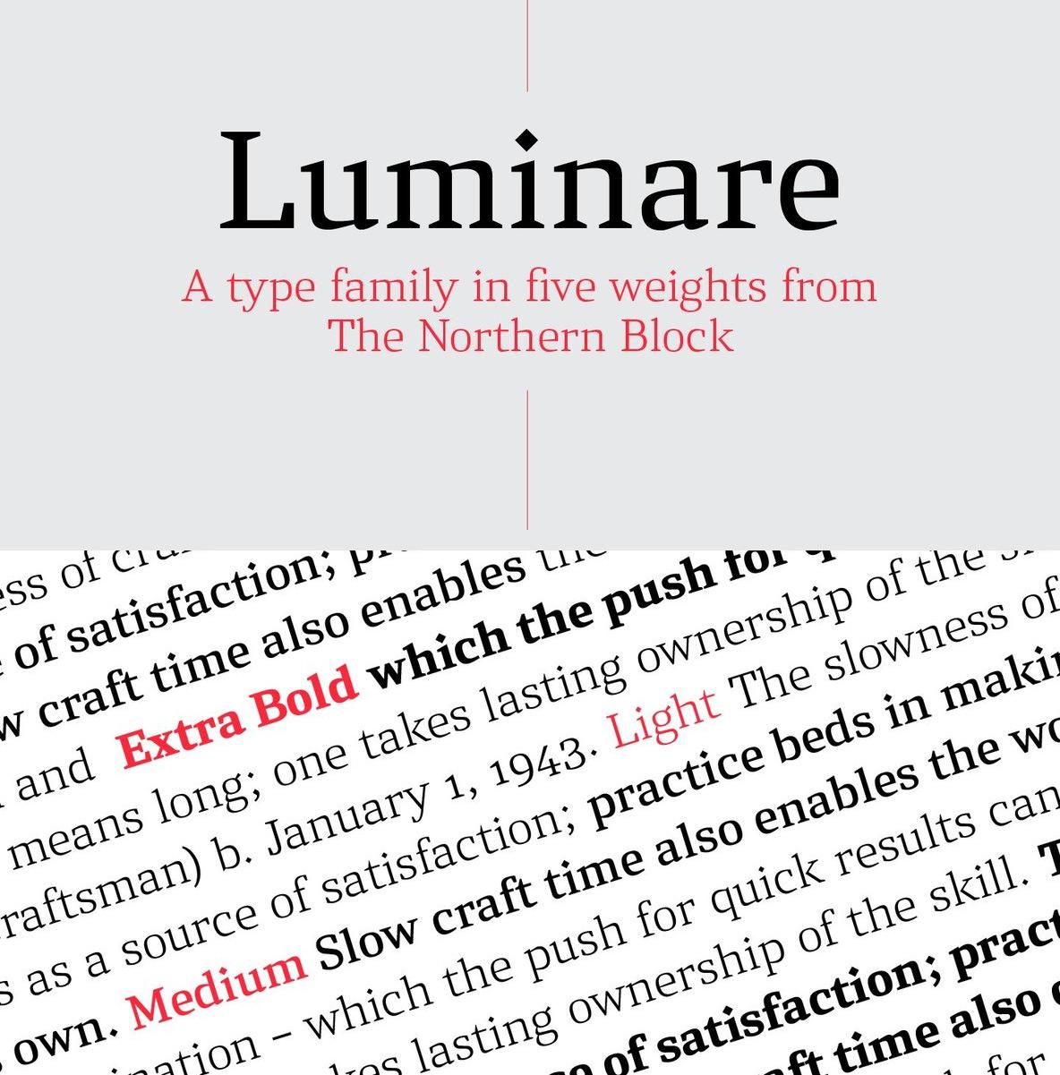 Fresh From The Northern Block: Luminare