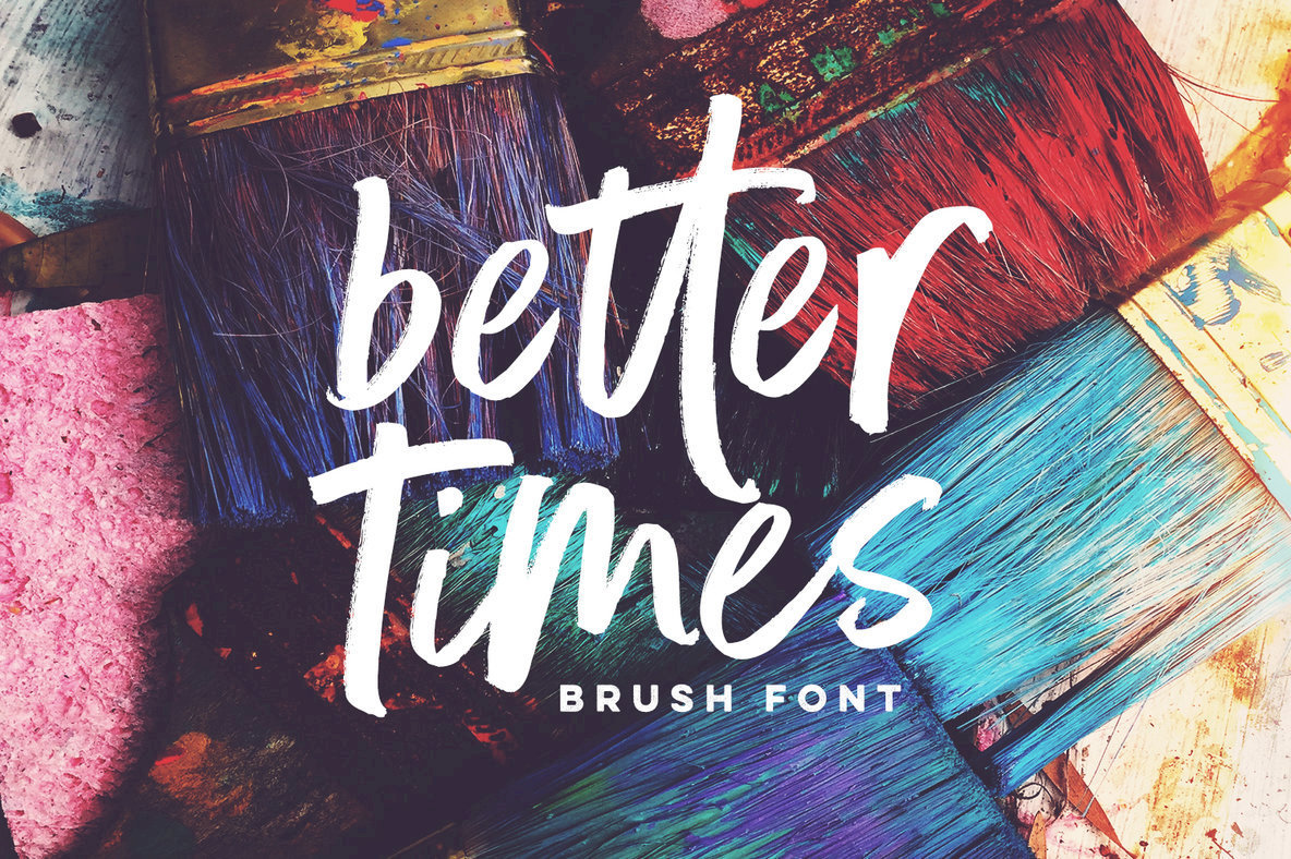 Better Times Are Here In An Uplifting Brush Script From Set Sail Studios