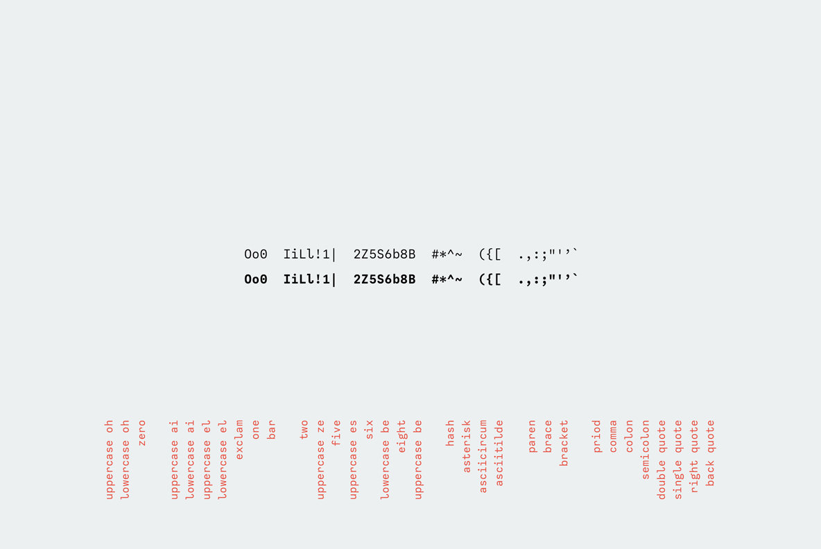 Calling Code: A Cute And Friendly Monospaced Font   YouWorkForThem