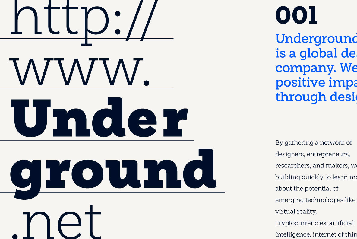 Weekly: A Slab Serif With Sans Ambition