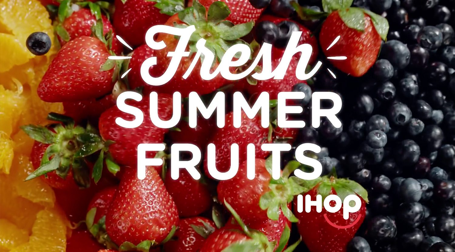 Internationally Recognized, Delicious & Homemade Goods: IHOP, Yellow Design Studio & YWFT
