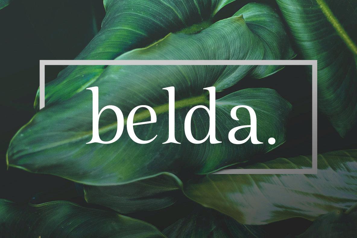 Classic & Romantic: Belda From insigne Type Design Studio