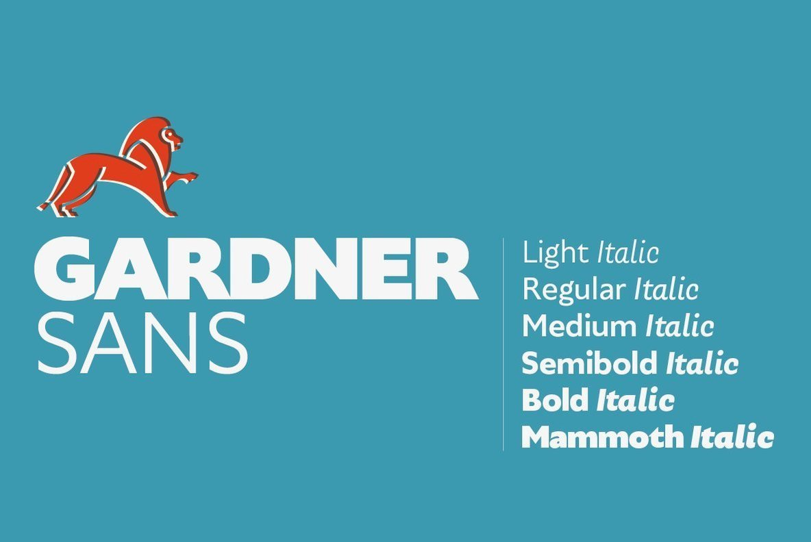 A Contemporary Sans Serif Steeped In 20th Century History: Gardner Sans