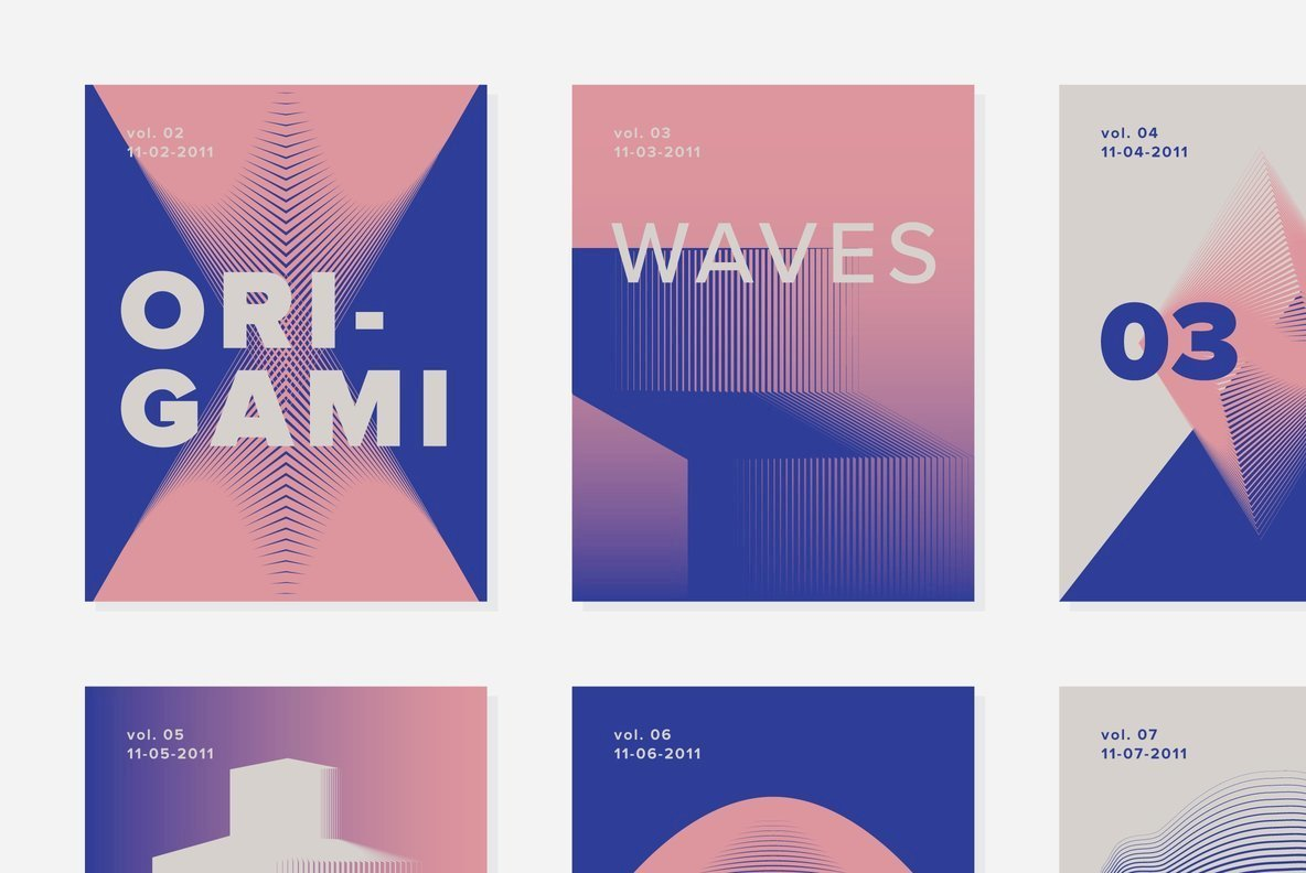 Embrace The Sensation Of Motion With Origami Waves 03 From Sigma