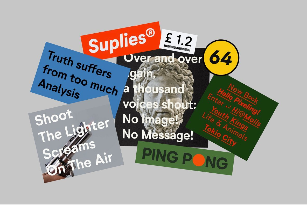 Neutrif Studio: A Modernist Sans Serif From Degarism Studio