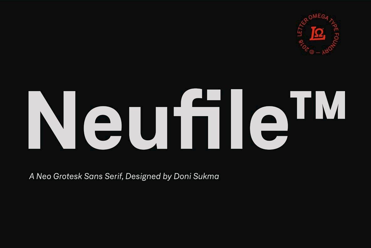 Neufile Grotesk - Desktop Font & WebFont - YouWorkForThem