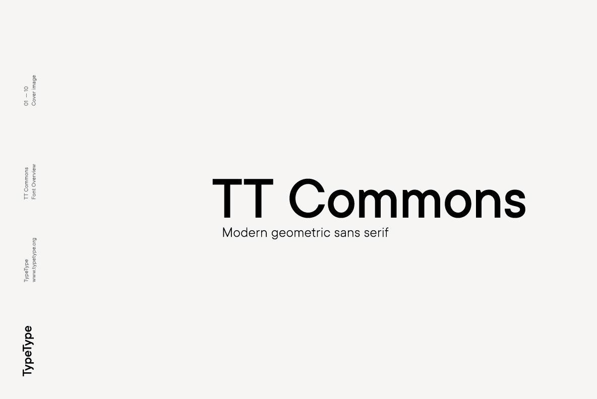 Download TT Commons Font