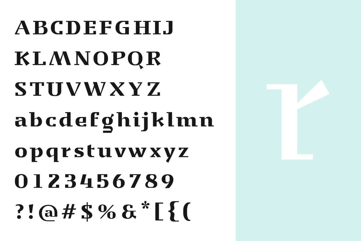 A Sharply Structured Display Serif From Yinon Ezra: YE
